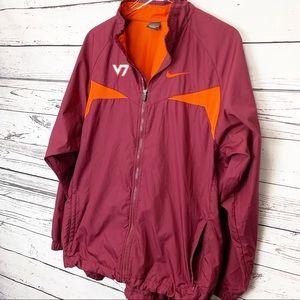 Nike Jackets & Coats - NIKE Virginia Tech windbreaker jacket